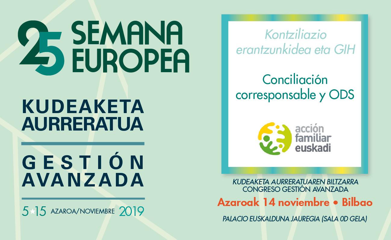 Programa de la 25 Semana Europea de Gestión Avanzada año 2019